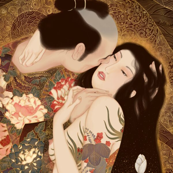 """Kuchidzuke"" (a tribute to Gustav Klimt)"